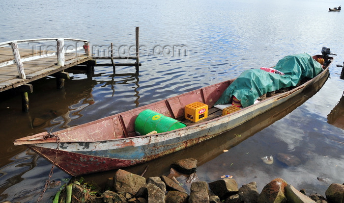 madagascar146: Soanierana Ivongo, Analanjirofo, Toamasina Province, Madagascar: iron canoe used for cargo - photo by M.Torres - (c) Travel-Images.com - Stock Photography agency - Image Bank