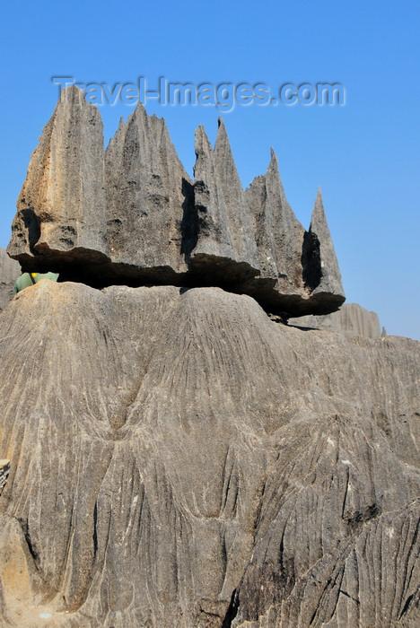 madagascar303: Tsingy de Bemaraha National Park, Mahajanga province, Madagascar: eroded rock atop the limestone massif - karst formation - UNESCO World Heritage Site - photo by M.Torres - (c) Travel-Images.com - Stock Photography agency - Image Bank