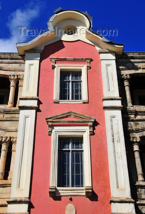 madagascar379: Antananarivo / Tananarive / Tana - Analamanga region, Madagascar: façade detail of the Palais de Andafiavaratra - Rue Ravelojaona - photo by M.Torres - (c) Travel-Images.com - Stock Photography agency - Image Bank