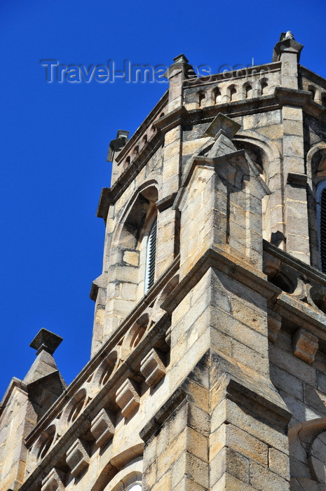 madagascar414: Antananarivo / Tananarive / Tana - Analamanga region, Madagascar: bell tower at Andohalo cathedral - designed by father Alphonse Taix - photo by M.Torres - (c) Travel-Images.com - Stock Photography agency - Image Bank