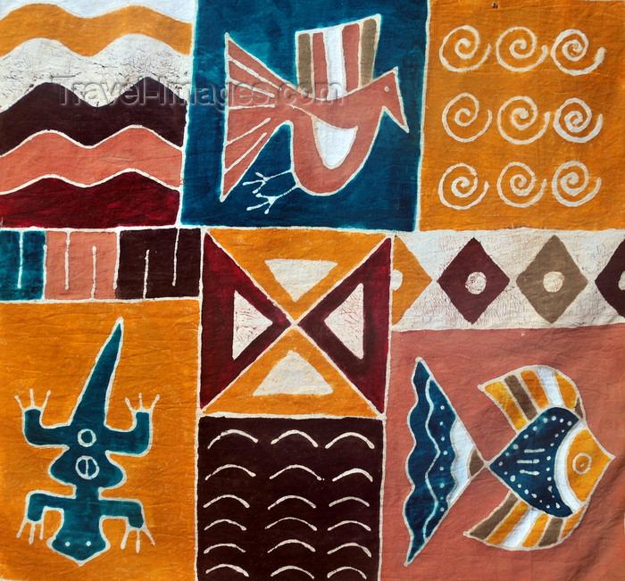 madagascar69: Vohilava, Île Sainte Marie / Nosy Boraha, Analanjirofo region, Toamasina province, Madagascar: Malagasy painting - photo by M.Torres - (c) Travel-Images.com - Stock Photography agency - Image Bank