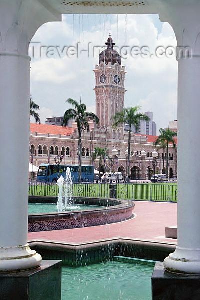 mal156: Malaysia - Kuala Lumpur -  KL / KUL: Merdeka square / Freedom square (photo by J.Kaman) - (c) Travel-Images.com - Stock Photography agency - Image Bank