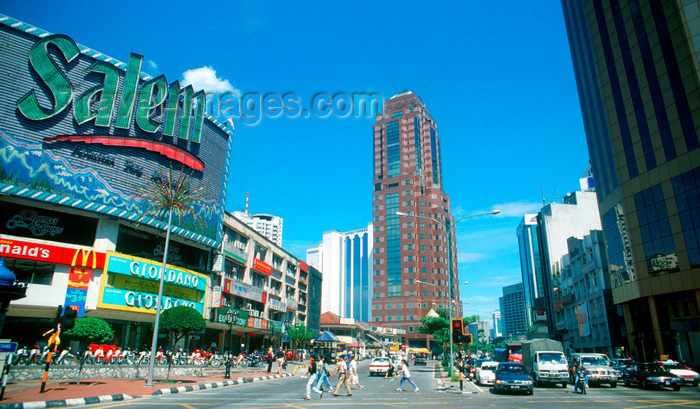 mal466: City center - Salem cigarettes ad, Kuala Lumpur, Malaysia - photo by B.Lendrum - (c) Travel-Images.com - Stock Photography agency - Image Bank