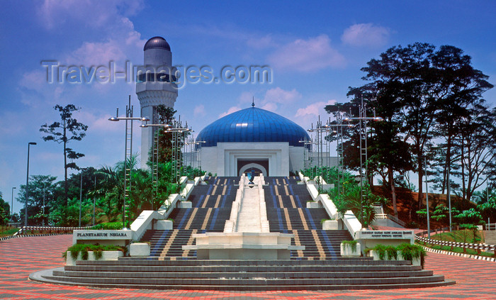 mal468: The national planetarium - Jalan Perdana, Kuala Lumpur, Malaysia - photo by B.Lendrum - (c) Travel-Images.com - Stock Photography agency - Image Bank