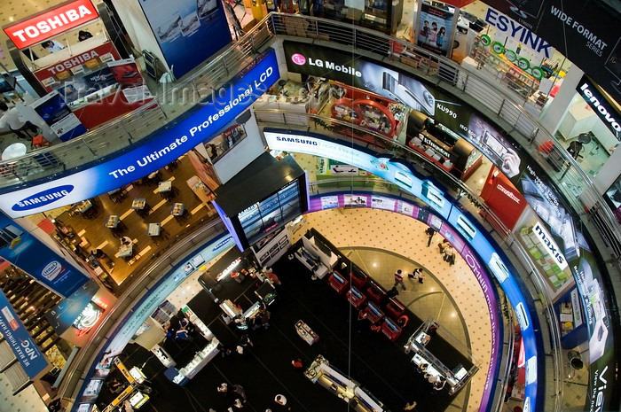 mal491: Kuala Lumpur, Malaysia: Plaza Low Yat electronics mall - interior - photo by J.Pemberton - (c) Travel-Images.com - Stock Photography agency - Image Bank