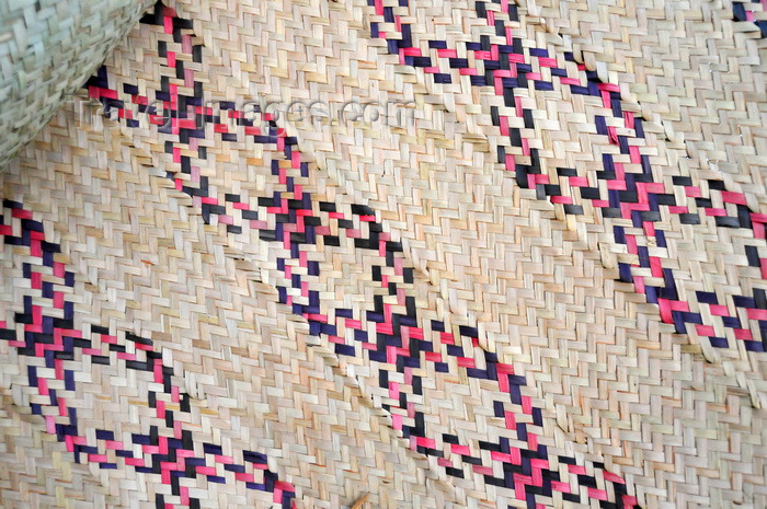 malawi119: Lake Malombe, Malawi: traditional woven mat - Malawian artisanal handicraft - photo by M.Torres - (c) Travel-Images.com - Stock Photography agency - Image Bank