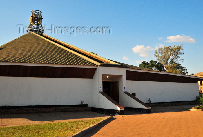 malawi41: Blantyre, Malawi: multi-purpose hall, modern annex to St Michael and All Angels Church - photo by M.Torres - (c) Travel-Images.com - Stock Photography agency - Image Bank