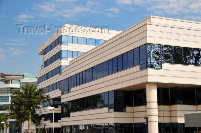 malawi51: Blantyre, Malawi: Reserve Bank (Malawi Central Bank), Blantyre Branch - Hanover Avenue, Central Business District (CBD) - architect Mike Clinton - photo by M.Torres - (c) Travel-Images.com - Stock Photography agency - Image Bank
