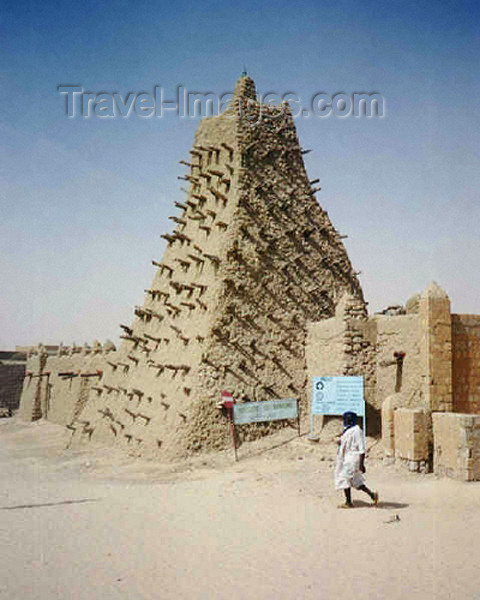 mali46: Mali - Timbuktu / Tombouctou / Tombuktu: Sidi Yahia Mosque - Unesco world heritage site - photo by G.Frysinger - (c) Travel-Images.com - Stock Photography agency - Image Bank