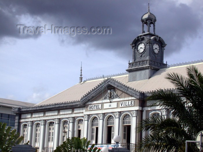 martinique4: Martinique / Martinica: Fort de France / FDF: the city hall / Hotel de Ville (photographer: R.Ziff) - (c) Travel-Images.com - Stock Photography agency - the Global Image Bank