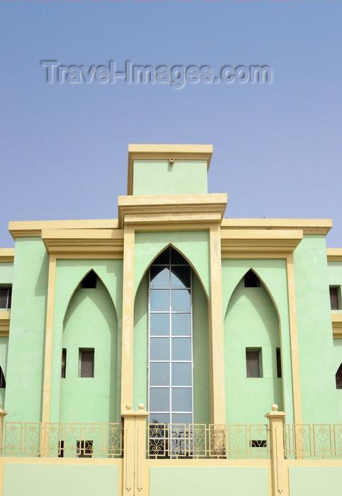 mauritania63: Nouakchott, Mauritania: detail of the the City Hall building - Communauté Urbaine de Nouakchott - photo by M.Torres - (c) Travel-Images.com - Stock Photography agency - Image Bank