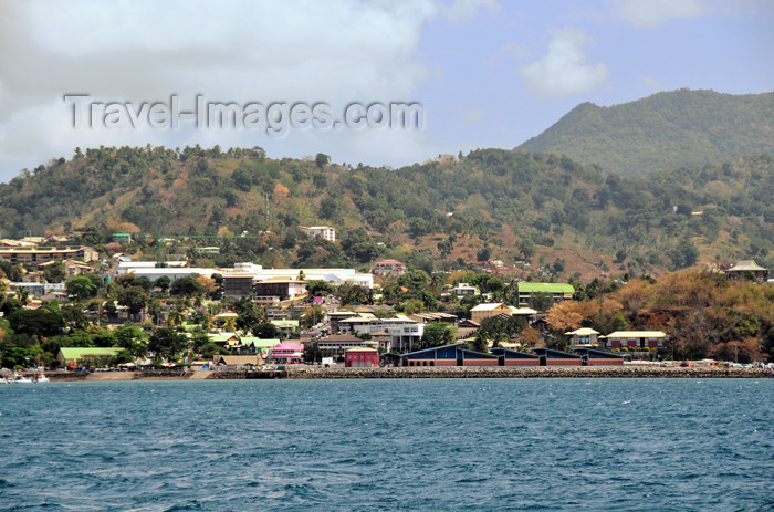 mayotte1: Mamoudzou, Grande-Terre / Mahore, Mayotte: the town seen from the Ocean - photo by M.Torres - (c) Travel-Images.com - Stock Photography agency - Image Bank