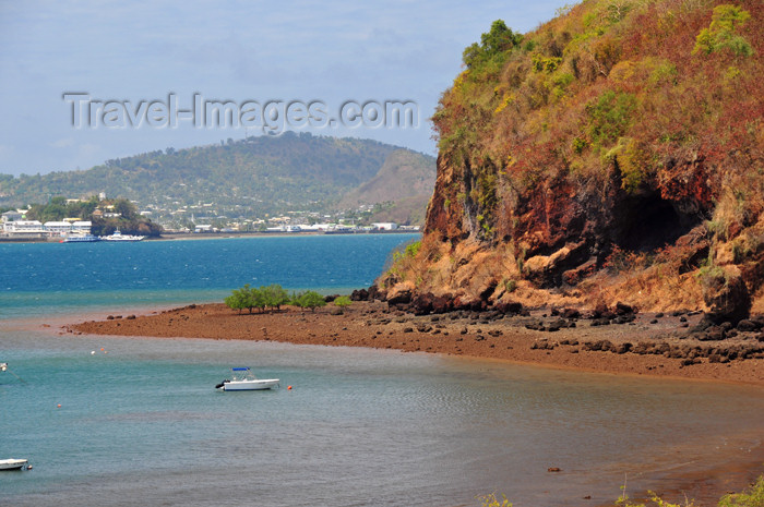 mayotte24: Mamoudzou, Grande-Terre / Mahore, Mayotte: Pointe Mahabou with Dzaoudzi and Pamanzi in the background - photo by M.Torres - (c) Travel-Images.com - Stock Photography agency - Image Bank