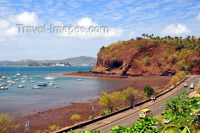 mayotte25: Mamoudzou, Grande-Terre / Mahore, Mayotte: Adrian Souli avenue, along the bay and Pointe Mahabou with Dzaoudzi and Pamanzi in the background - photo by M.Torres - (c) Travel-Images.com - Stock Photography agency - Image Bank