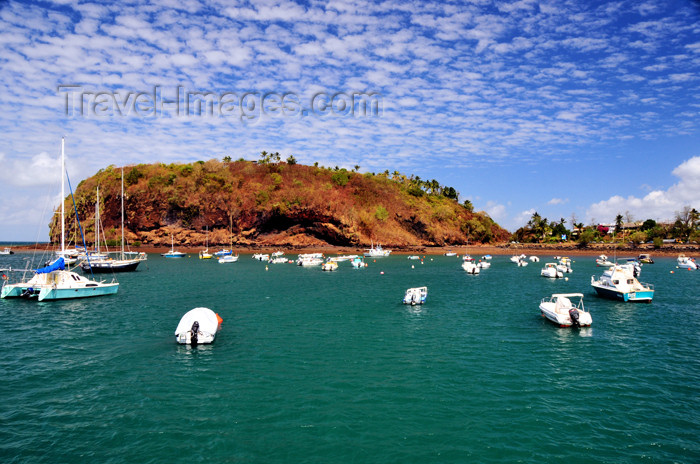 mayotte35: Mamoudzou, Grande-Terre / Mahore, Mayotte: Pointe Mahabou and the bay - photo by M.Torres - (c) Travel-Images.com - Stock Photography agency - Image Bank