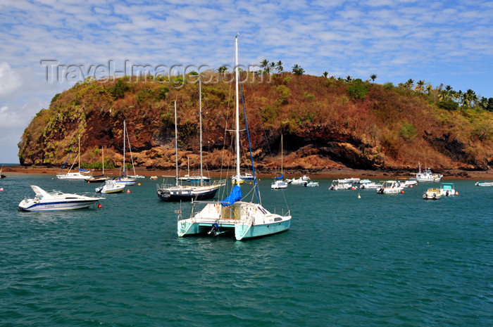 mayotte36: Mamoudzou, Grande-Terre / Mahore, Mayotte: catamaran and Pointe Mahabou - photo by M.Torres - (c) Travel-Images.com - Stock Photography agency - Image Bank