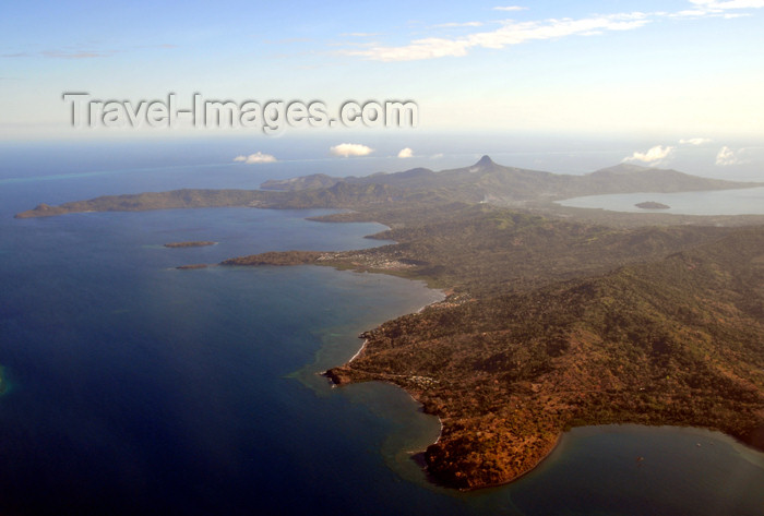 mayotte38: Mamoudzou, Grande-Terre / Mahore, Mayotte: seen from the air - photo by M.Torres - (c) Travel-Images.com - Stock Photography agency - Image Bank
