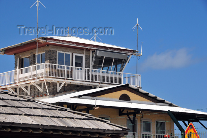 mayotte41: Pamandzi, Petite-Terre, Mayotte: Dzaoudzi Pamandzi International Airport - DZA - control tower - photo by M.Torres - (c) Travel-Images.com - Stock Photography agency - Image Bank