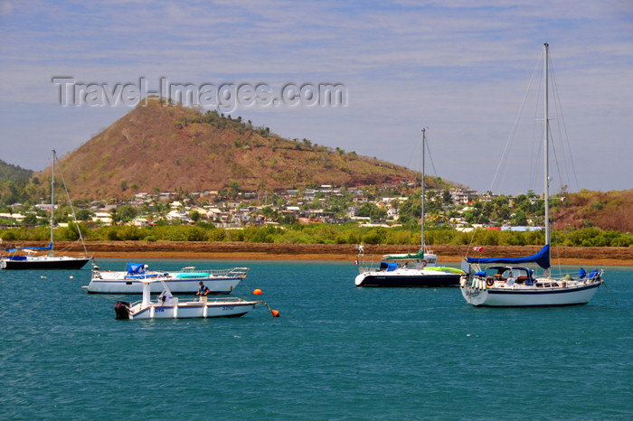 mayotte70: Labattoir, Petite-Terre, Mayotte: seen from Dzaoudzi's marina - port de plaisance - photo by M.Torres - (c) Travel-Images.com - Stock Photography agency - Image Bank