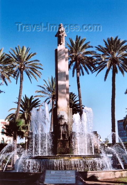 melilla13: Melilla: monument on Plaza España honouring the heroes of the Moroccan campaigns - Monumento a los Héroes de las Campañas de Marruecos - photo by M.Torres - (c) Travel-Images.com - Stock Photography agency - Image Bank