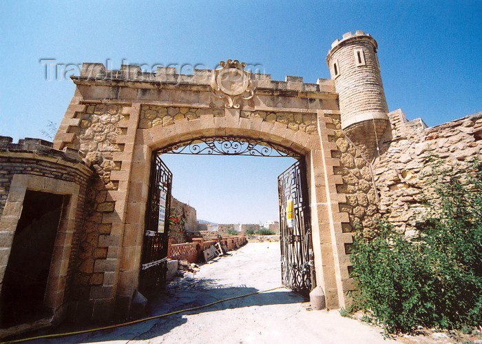 melilla45: Melilla: gate to Plaza de Armas - Melilla la Vieja - photo by M.Torres - (c) Travel-Images.com - Stock Photography agency - Image Bank