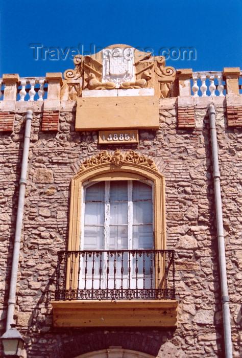 melilla51: Melilla: balcony - in the citadel / balcon en el Pueblo - photo by M.Torres - (c) Travel-Images.com - Stock Photography agency - Image Bank