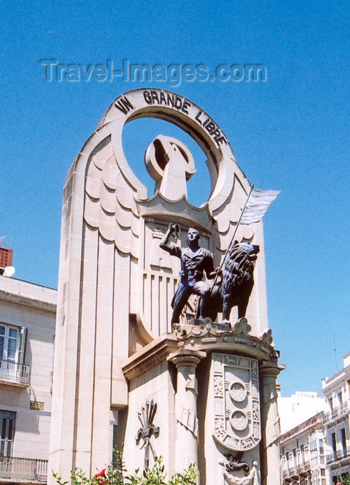 melilla70: Melilla: Legion monument | monumento a la Legión - photo by M.Torres - (c) Travel-Images.com - Stock Photography agency - Image Bank