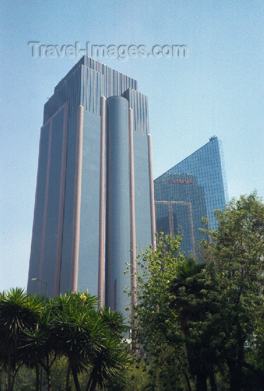 mexico34: Mexico City: Skyscrapers / Rascacielos - photo by M.Torres - (c) Travel-Images.com - Stock Photography agency - Image Bank