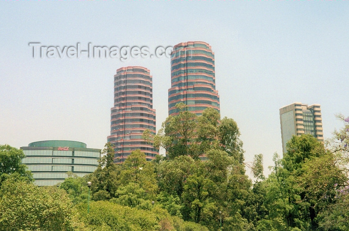 mexico41: Mexico City: towers / torres - photo by M.Torres - (c) Travel-Images.com - Stock Photography agency - Image Bank
