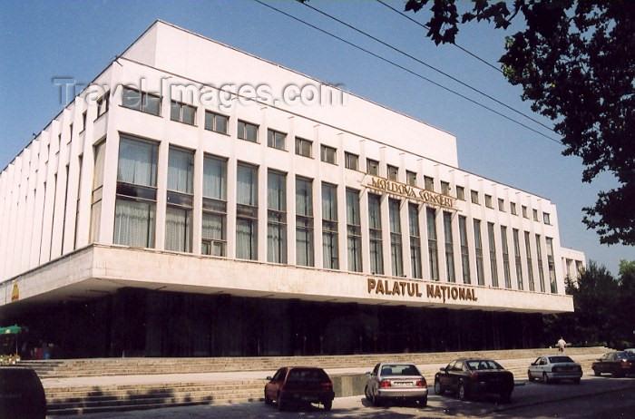 moldova61: Chisinau / Kishinev, Moldova: National Palace - Palatul National - Puskin street - architect S. Fridlin - photo by M.Torres - (c) Travel-Images.com - Stock Photography agency - Image Bank