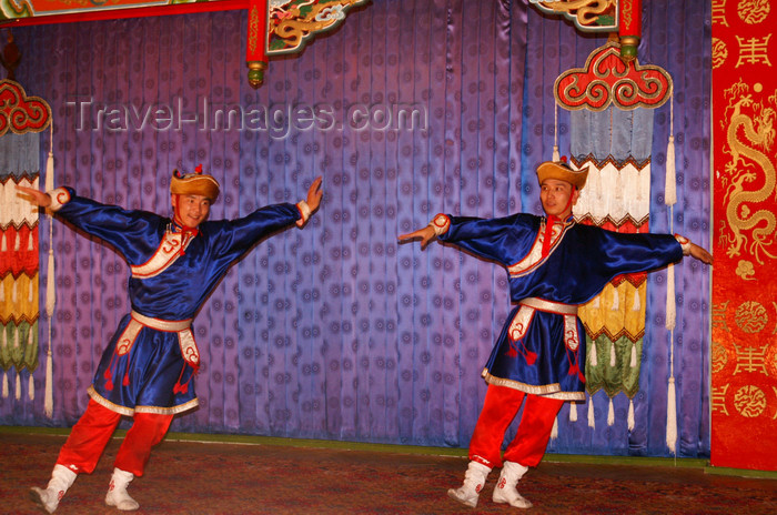 mongolia11: Ulan Bator / Ulaanbaatar, Mongolia: dancers, Tumen Ekh's cultural show - photo by A.Ferrari - (c) Travel-Images.com - Stock Photography agency - Image Bank