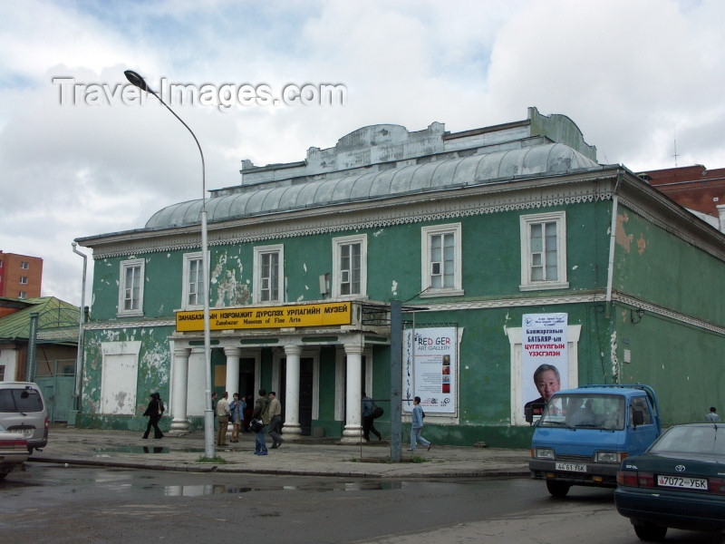 mongolia4: Mongolia - Ulaan Baator / ULN: Zanabazar Museum of Fine Arts -  Russian architecture - photo by P.Artus - (c) Travel-Images.com - Stock Photography agency - Image Bank