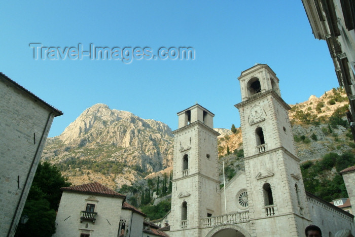montenegro10: Montenegro - Crna Gora  - Kotor: Cathedral of St. Tryphon - church - Tripun - Unesco world heritage site - photo by J.Banks - (c) Travel-Images.com - Stock Photography agency - Image Bank