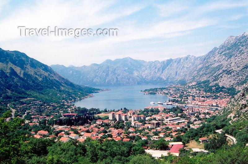 montenegro161: Montenegro - Crna Gora  - Boka Kotorska: Kotor and the fjord - photo by M.Torres - (c) Travel-Images.com - Stock Photography agency - Image Bank