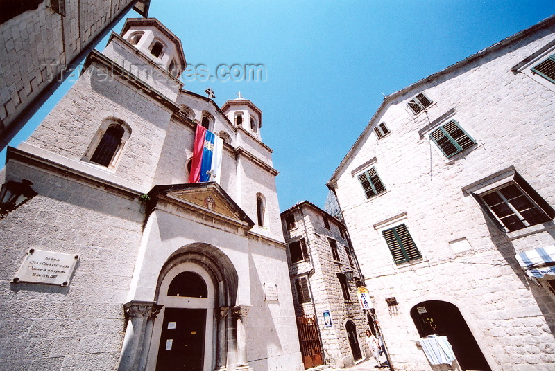 montenegro185: Montenegro - Crna Gora  - Kotor: under the church of St Nicholas - Serbian church  - photo by M.Torres - (c) Travel-Images.com - Stock Photography agency - Image Bank