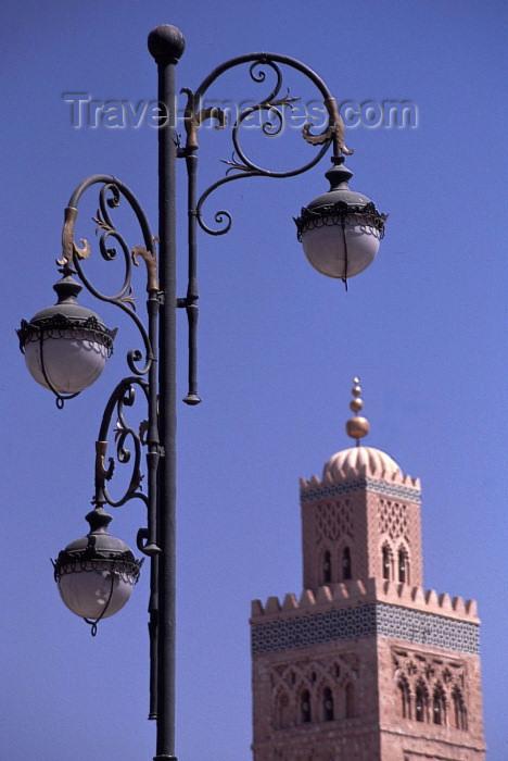 moroc118: Morocco / Maroc - Marrakesh: La Koutoubia - Medina of Marrakech - UNESCO World Heritage Site - photo by F.Rigaud - (c) Travel-Images.com - Stock Photography agency - Image Bank