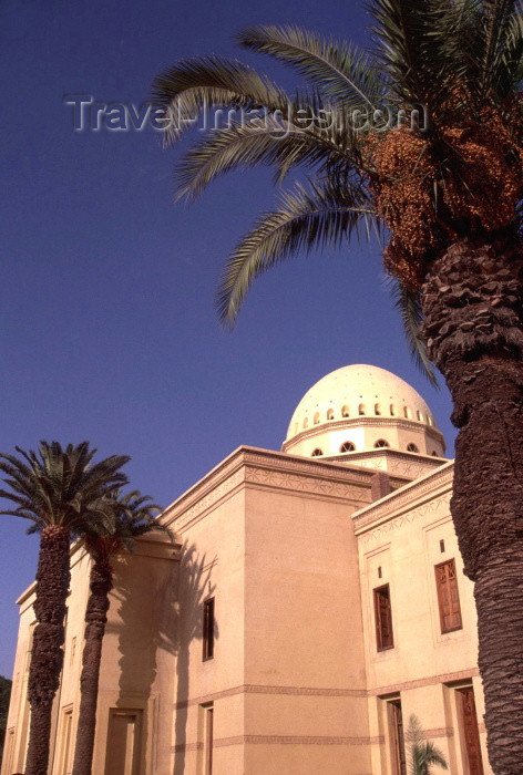 moroc120: Morocco / Maroc - Marrakesh / Marrakech: the Royal Opera House, designed by Tunisian architect Charles Boccara - Av. de la France / l'opera / Opernhaus in Marrakesch / Théâtre Royal - photo by F.Rigaud - (c) Travel-Images.com - Stock Photography agency - Image Bank