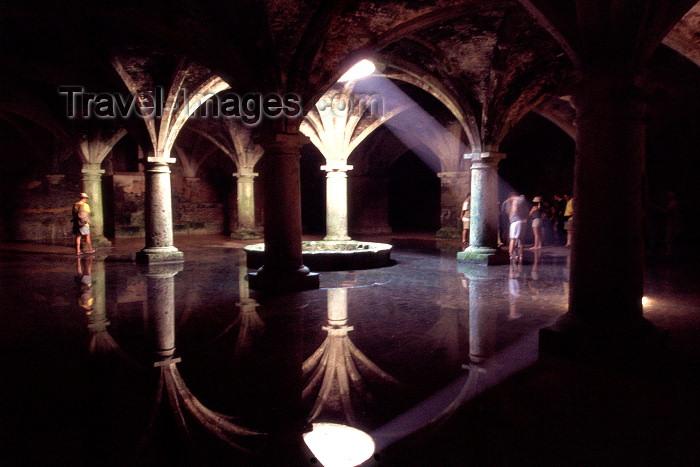 moroc18: Morocco / Maroc - Mazagão / Mazagan / El Jadida / Al Djadida: Portuguese castle - fresh water reserve cistern - architecture of the Portuguese Renaissance / Castelo Português -  interior da cisterna - photo by F.Rigaud - (c) Travel-Images.com - Stock Photography agency - Image Bank