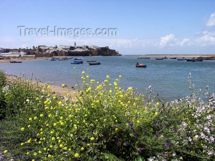 moroc231: Morocco / Maroc - Rabat: view from Salé - photo by J.Kaman - (c) Travel-Images.com - Stock Photography agency - Image Bank
