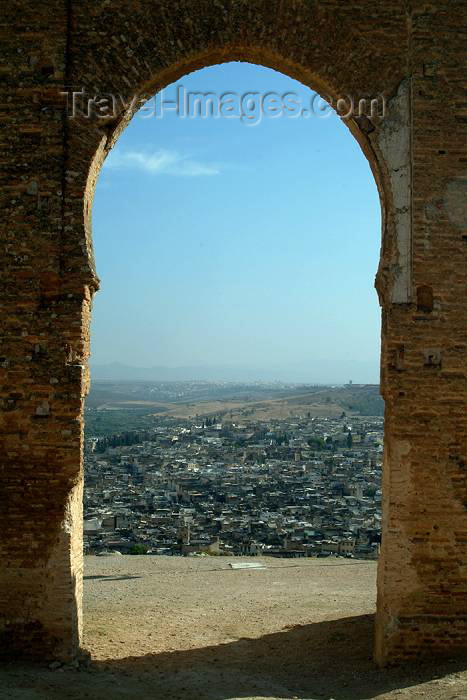 moroc337: Morocco / Maroc - Fez: virtual gate to city - photo by J.Banks - (c) Travel-Images.com - Stock Photography agency - Image Bank