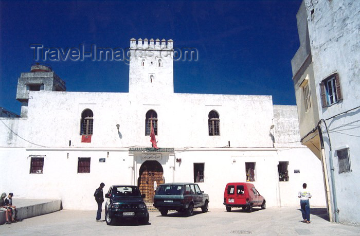 moroc36: Morocco / Maroc - Tangier / Tanger: administrative building in the Kasbah - photo by M.Torres - (c) Travel-Images.com - Stock Photography agency - Image Bank