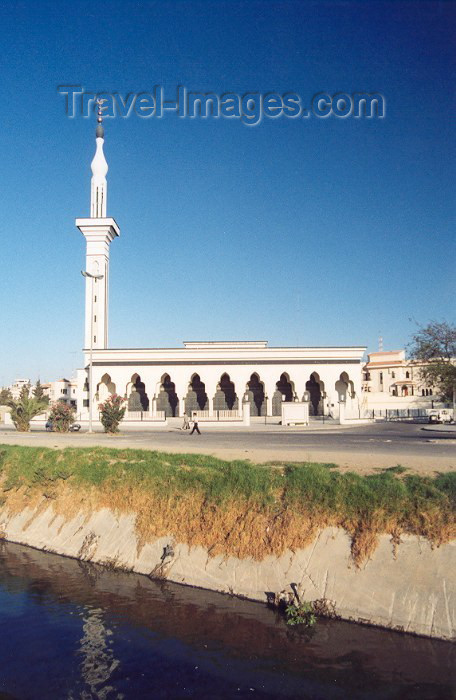 moroc44: Morocco / Maroc - Tangier / Tanger: modern architecture, the Syrian mosque - Sahat Al Jamai Al Arabia - photo by M.Torres - (c) Travel-Images.com - Stock Photography agency - Image Bank