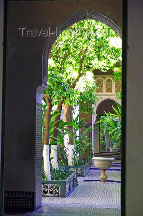 moroc497: Marrakesh - Morocco: Bahia palace - Palais de la Bahia - photo by Sandia - (c) Travel-Images.com - Stock Photography agency - Image Bank