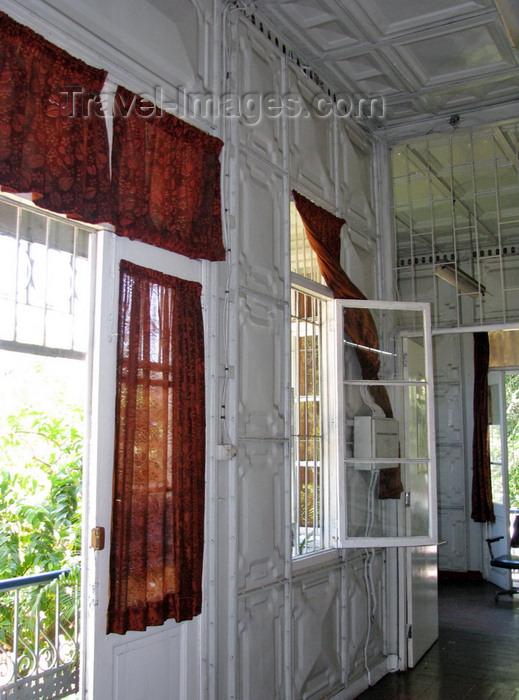 mozambique232: Maputo, Mozambique: interior or Eiffel's Iron House - interior da Casa de Ferro - steel house - photo by G.Frysinger - (c) Travel-Images.com - Stock Photography agency - Image Bank