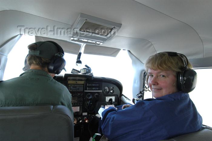 namibia159: Namibia: Light plane cockpit - photo by B.Cain - (c) Travel-Images.com - Stock Photography agency - Image Bank
