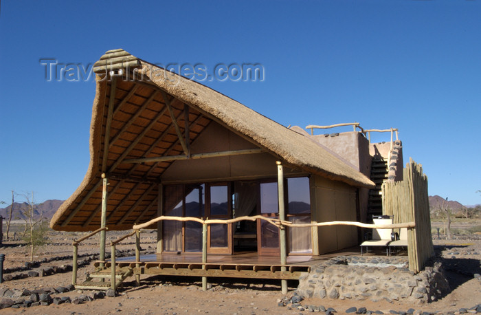 namibia162: Namibia: Little Kulala Lodge guest suite, near Sossusvlei - photo by B.Cain - (c) Travel-Images.com - Stock Photography agency - Image Bank