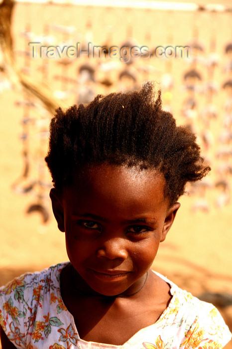 namibia226: Kunene region, Namibia: Herero girl - Bantu group - photo by Sandia - (c) Travel-Images.com - Stock Photography agency - Image Bank