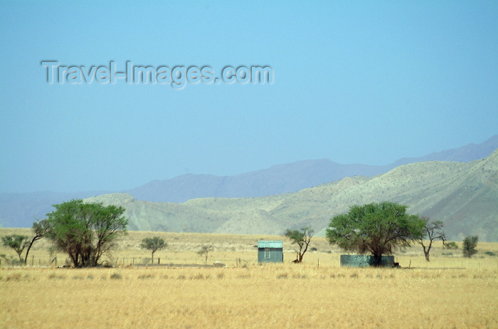 namibia23: Namibia: field workers homes - photo by J.Banks - (c) Travel-Images.com - Stock Photography agency - Image Bank