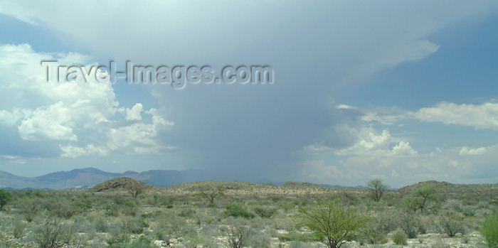 namibia38: Namibia - Namib desert: a spot of rain in the desert - cloud formation - photo by J.Banks - (c) Travel-Images.com - Stock Photography agency - Image Bank