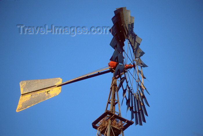 namibia85: Namibia - windmill - photo by G.Friedman - (c) Travel-Images.com - Stock Photography agency - Image Bank